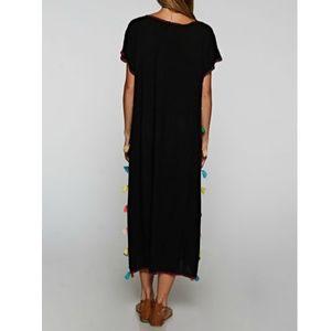 Love Stitch Dresses - Embroidered Kaftan